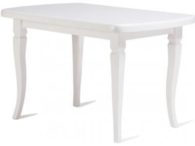 Стол кухонный раздвижной 140*190 ( белая эмаль )
