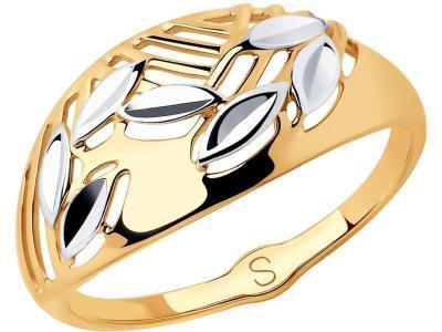 Кольцо 018001 золото 585°