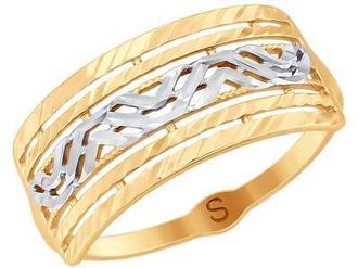 Кольцо 017987 золото 585°