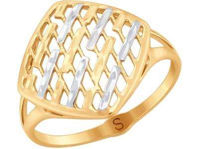 Кольцо 017998 золото 585°