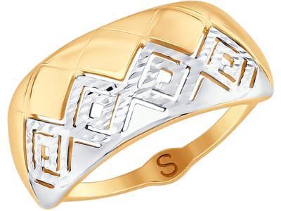 Кольцо 017742-17 золото 585°