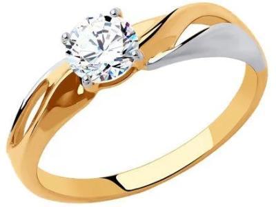 Кольцо 018321-18,5 золото 585°