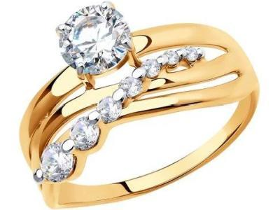 Кольцо 018522-18,5 золото 585°