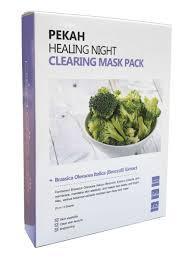 PEKAH HEALING NIGHT CLEARING MASK PACK Вечерняя восстанавливающая очищающая маска