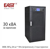 Трехфазный онлайн ИБП EA990, 30кВА/27кВт, 380В. В наличии., фото 1