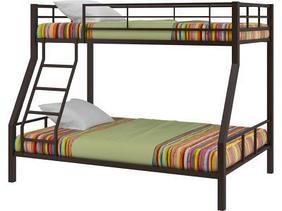 Кровать двухъярусная Гранада-1, коричневый