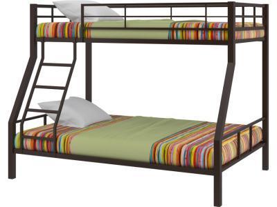 Кровать двухъярусная Гранада-1, черный