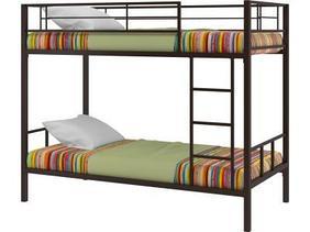 Кровать двухъярусная Севилья -2, черный