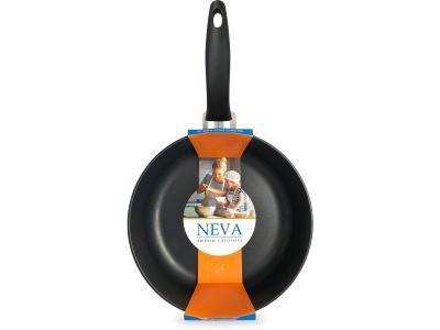 Сковорода 26 см литая противопригарная Neva Black