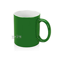 Керамическая кружка (зеленая)