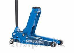 NORDBERG Домкрат N32035 подкатной, низкопрофильный, 3,5т 100-565 мм