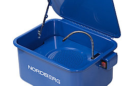 Установка для мойки деталей с электрическим насосом, объем 19 л NORDBERG NW20