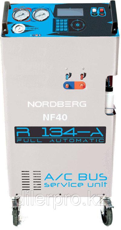 Nordberg NF40 установка для заправки кондиционеров автобусов