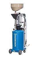 NORDBERG 2380 Установка для сбора масла с вакуумной откачкой 80л, 6 щупов, адаптеры