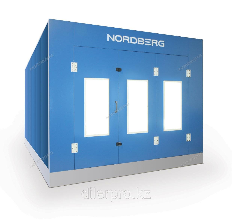 NORDBERG STANDART кабина покрасочной камеры с основанием