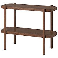 Стол консольный ЛИСТЕРБИ коричневый 92x38x71 см ИКЕА, IKEA, фото 1