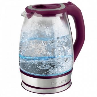 Электрический чайник Scarlett SC-EK27G45 (стекло)