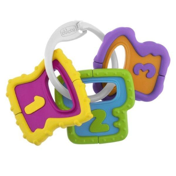 Погремушка Chicco Easy Grasp Ключи 3м+