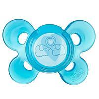 Пустышка латексная Chicco Physio Comfort 6м+ 1 шт голубая