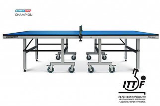Теннисный стол Start Line Champion 25 мм, кант 50 мм, без сетки, фото 3