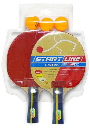 Набор: 2 Ракетки Level 200, 3 Мяча Club Select, упаковано в блистер, фото 2