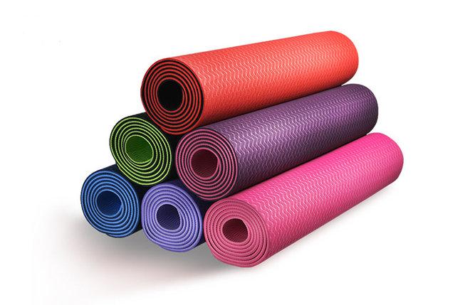 Коврики для йоги ART.Fit (61х183х0.6 см) TPE, с чехлом, фото 2