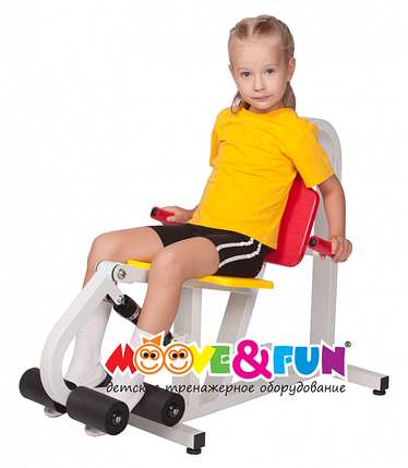 Детский тренажер Разгибание ног 5-8 лет (MF-E01), фото 2