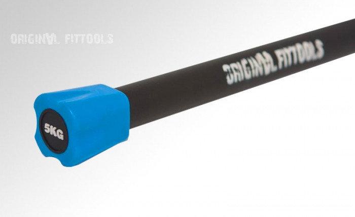 Бодибар FT 5 кг светло-синий наконечник, фото 2