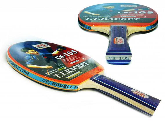 Ракетка для настольного тенниса DOUBLE FISH - СК-105, фото 2
