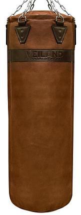 Боксерский мешок из нат. кожи (140х35 см, 50кг), фото 2