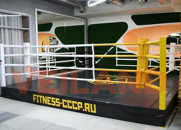 Боксерский ринг на помосте 5х5 м (боевая зона 4х4 м), помост 0,5 м, фото 2