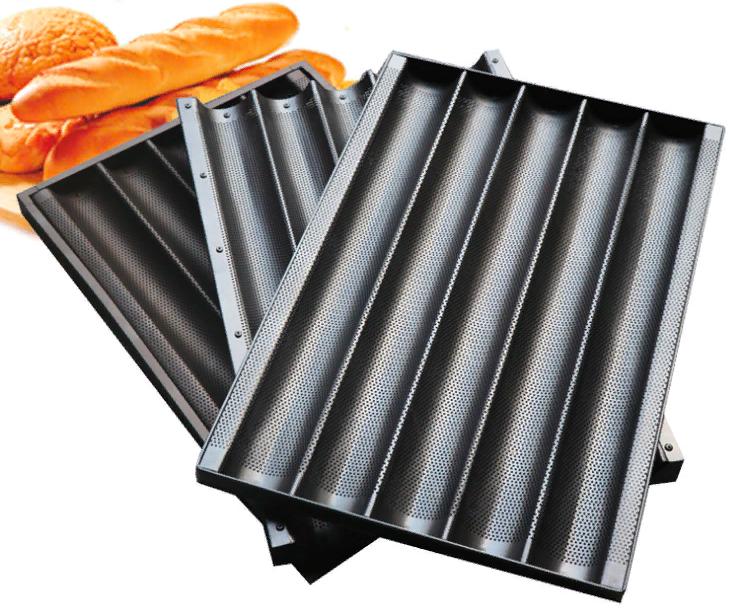 Противень для багета тефлоновый 600х400 (5 слотов)