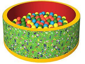 Сухой бассейн «Веселая поляна», 150 шариков, фото 2