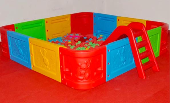Сухой бассейн квадратный, фото 2