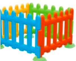 Детский игровой заборчик высокий, секционный (1 метр), фото 3
