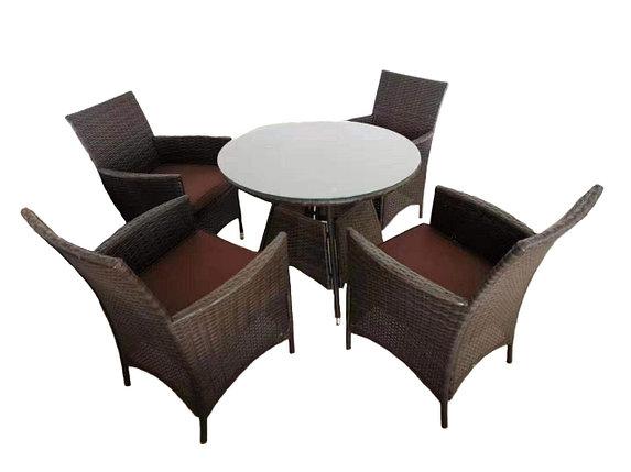 """Круглый стол с 4-мя стульями """"Мельбурн"""", фото 2"""