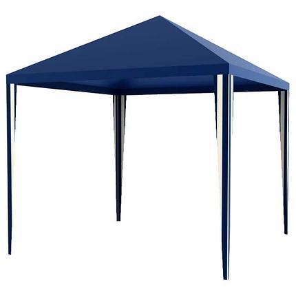 Шатер, тент, торговая палатка аллюминевый (3х3м) с сумкой, синий, фото 2
