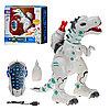 Радиоуправляемый робот-динозавр Yearo Toy Тирекс 2 стреляет ракетами, дышит паром