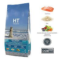 Сухой корм для собак средних пород HT Adult Medium Dog Salmon And Rice с лососем и рисом