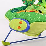 Детский шезлонг LA-DI-DA BR2A-B90075 зеленый, фото 5