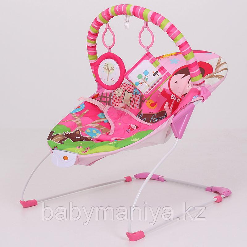 Детский шезлонг LA-DI-DA  BR4A-B90034 розовый