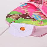 Детский шезлонг LA-DI-DA  BR4A-B90034 розовый, фото 4
