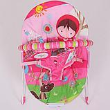 Детский шезлонг LA-DI-DA  BR4A-B90034 розовый, фото 2