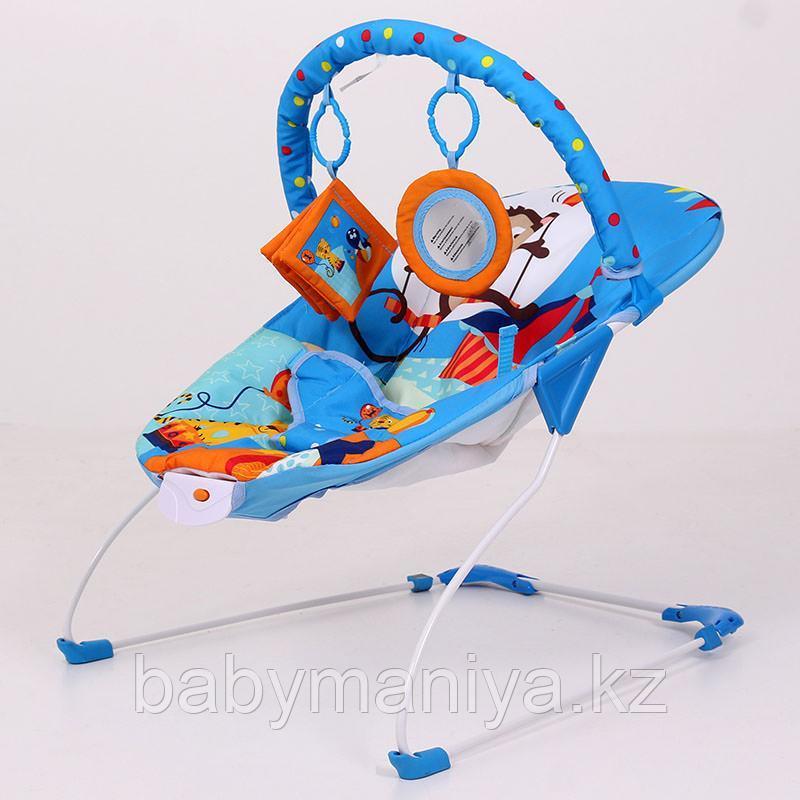 Детский шезлонг LA-DI-DA  BR4A-B90035 синий