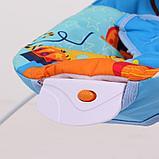 Детский шезлонг LA-DI-DA  BR4A-B90035 синий, фото 4