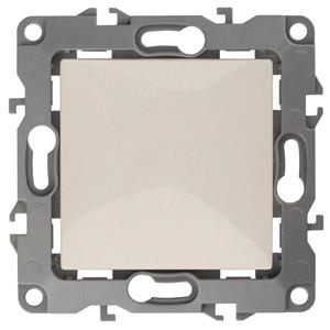 12-1101-02 Выключатель 10АХ-250В ЭРА12, слоновая кость