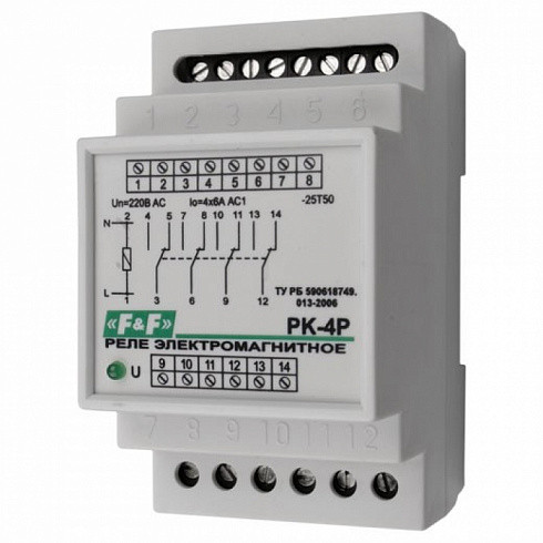 Реле электромагнитное РК-4Р 24