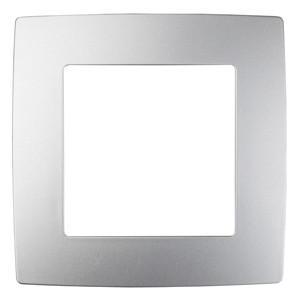 12-5001-03 Рамка на 1 пост, ЭРА12, алюминий