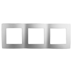 12-5003-03 Рамка на 3 поста, ЭРА12, алюминий