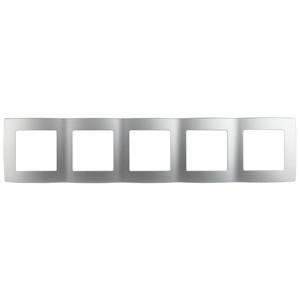 12-5005-03 Рамка на 5 постов, ЭРА12, алюминий